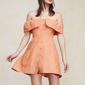 Reformation Linen Dress 6